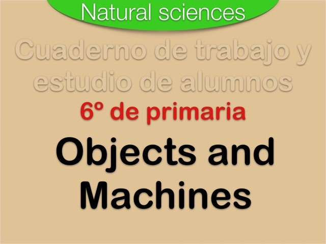 Objects and Machines by Elysia Edu