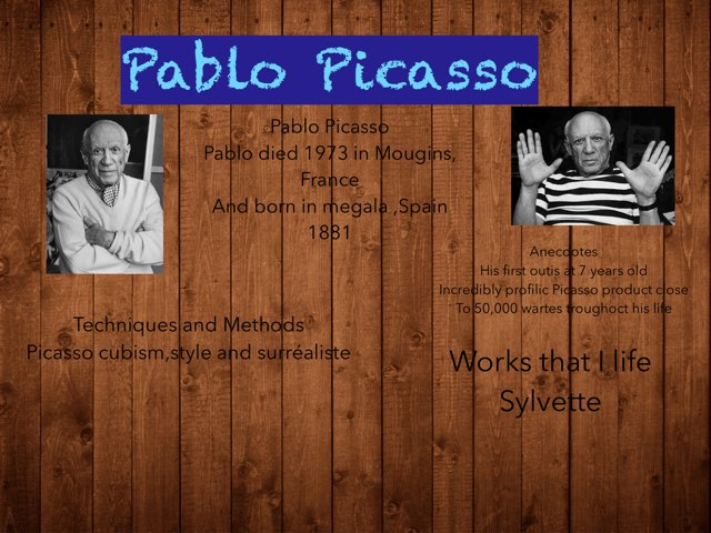 Pablo Picasso by Isabelle Guay
