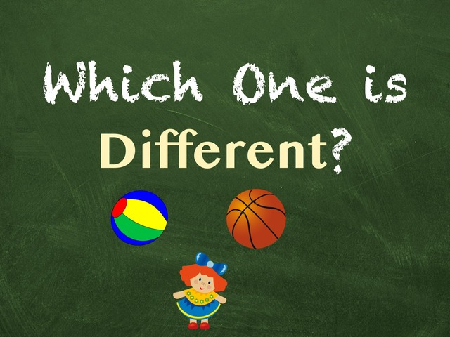 Which One is Different?  by Hadi  Oyna
