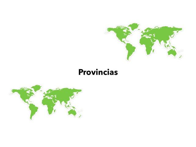 Provincias by Valeria Villanueva Del Arco