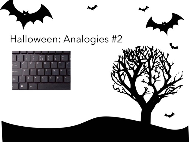Halloween: Analogies #2 by Carol Smith