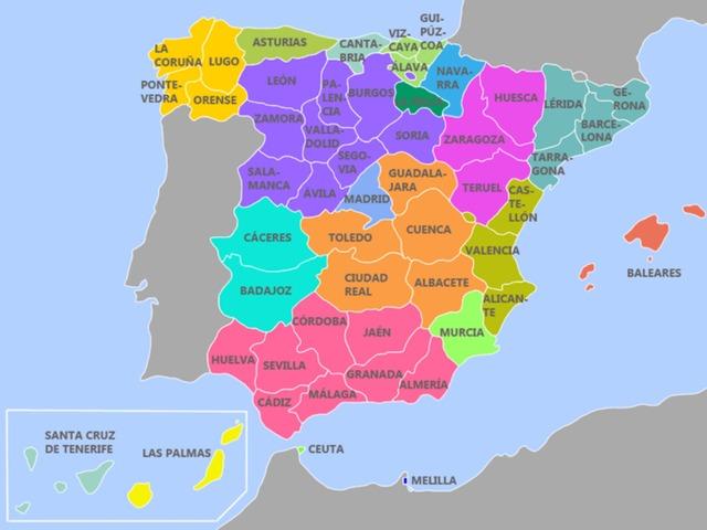 Provincias by Nuria Lobo Cordero