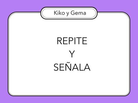 REPITE Y SEÑALA  by Zoila Masaveu