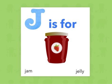 J Is For (Word Book) by Carol Smith