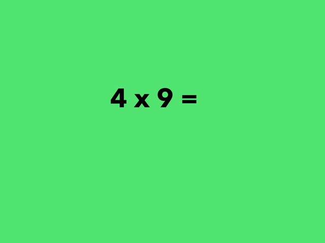9 Multiplication Facts by Lori Board