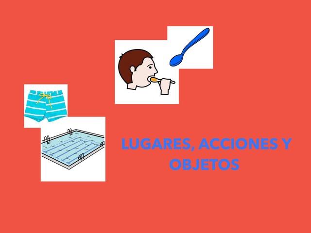 Lugares,acciones,objetos  by Francisca Sánchez Martínez