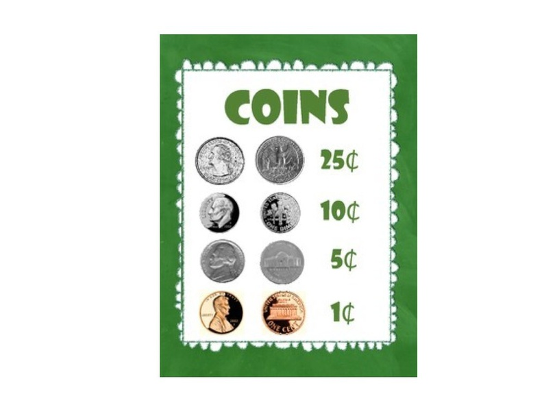 Match The Coins  by Charlotte Mitchell