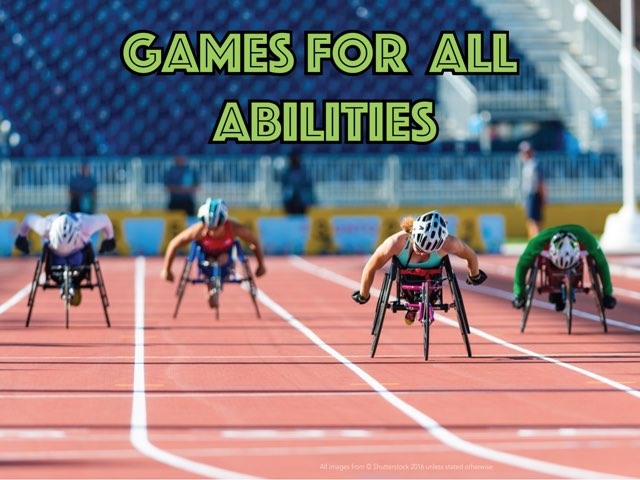 Games For All Abilities  by Mr Jones