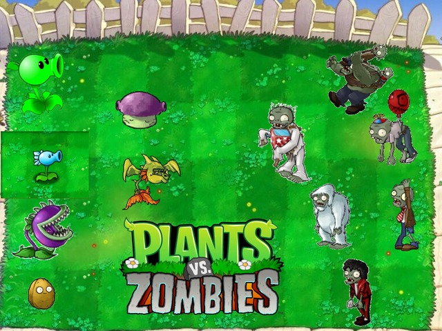 Plants Vs Zombies  by Brian Alejandro Gil