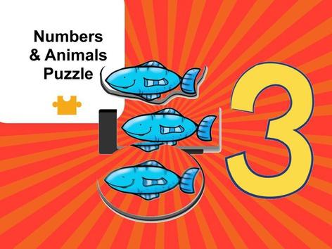 Animals & Numbers 1-5 (EN UK) by Mr. Puzzlez