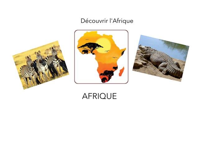 L'Afrique  by Marie Desbrée
