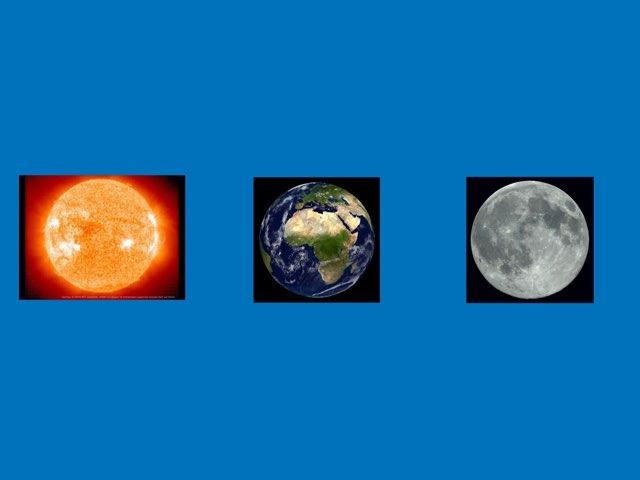 Essai Earth Moon Sun by Classe Ecolint