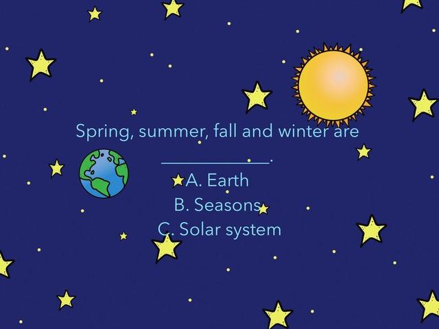 Seasons by Bilingual Adventure