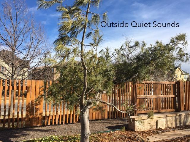 Quiet Outside Sounds by Vision Teacher