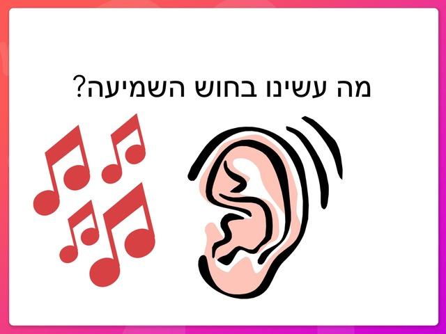 חוש השמיעה by אריאל מנדלבאום