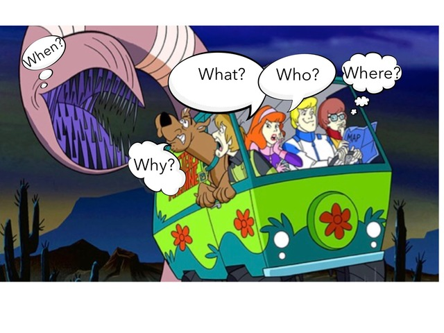 Question Words With Scooby Doo by MOLLY THOMPSON