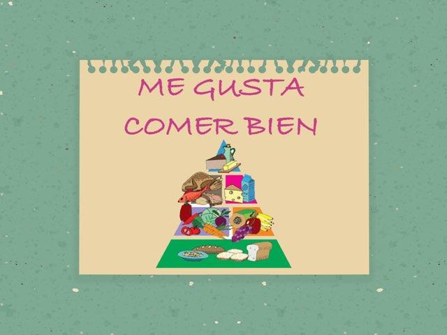 Pirámide Alimentos by Carmen Acosta