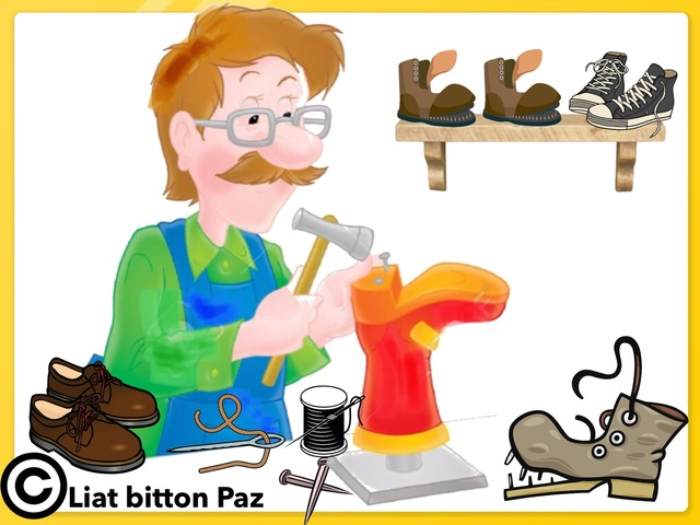 Professions And Tools - Part 3 by Liat Bitton-paz