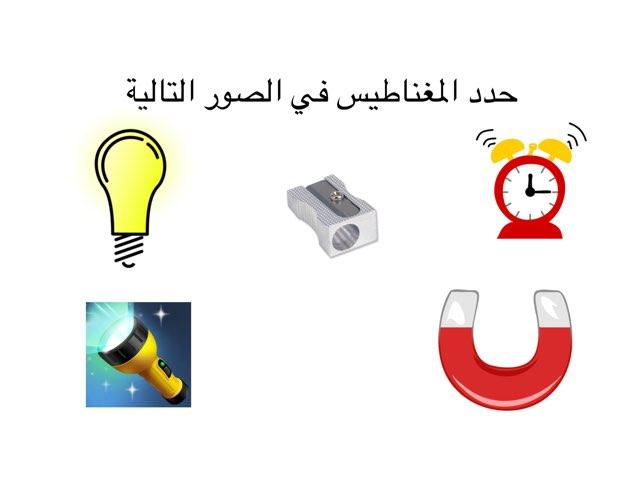 ماذا يجذب المغناطيس للصف الأول by Altaf Alotaibi