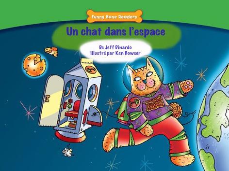 Un chat dans l'espace by Red Chair Press