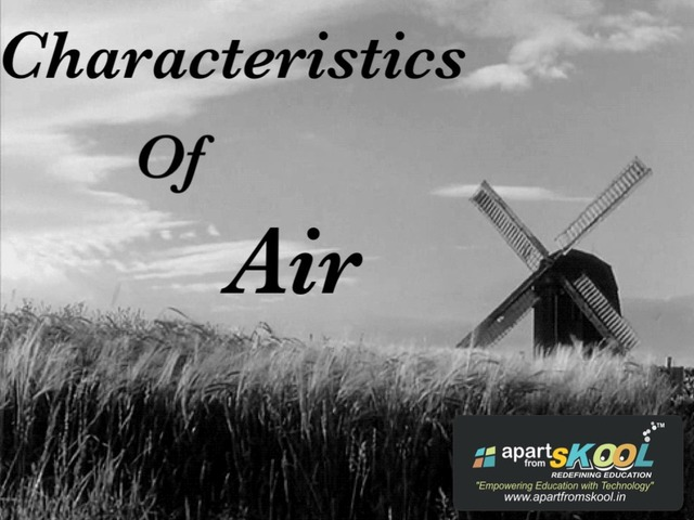 characteristics Of Air by TinyTap creator