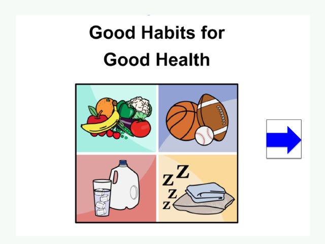 Good Habits For Good Health by Susan Rodriguez