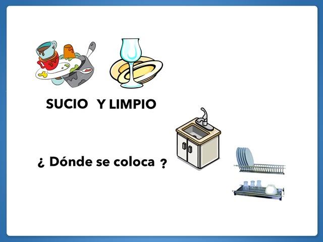 Sucio Y Limpio. ¿Dónde? by Francisca Sánchez Martínez