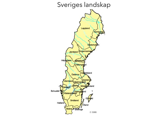 Sverige Pussel  by Alicia Lindström