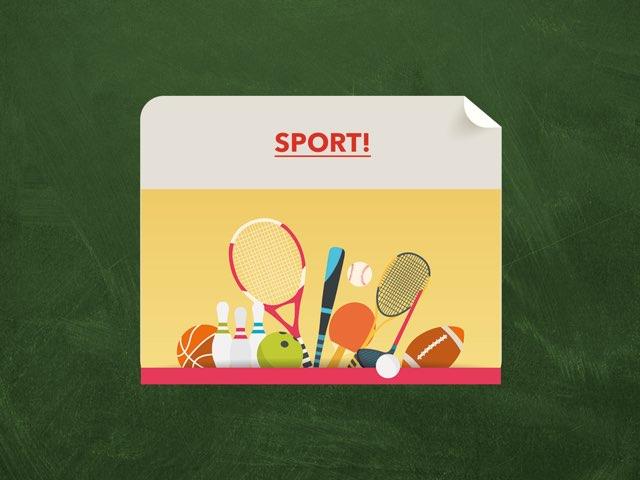 Sport!  by Anaïs Rotsaert