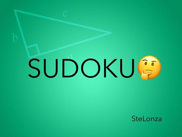 SUDOKU by ۞Ste Lonza