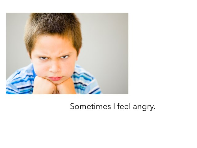 Sometimes I Feel Angry Social Story by Ma wert