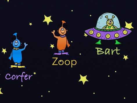 Alien Names  by Sarah Hart