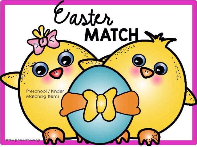 Easter Match - Matching Identical Items by Yara Habanbou