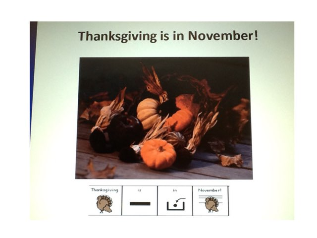 Thanksgiving Is In November! by Sarah Severance