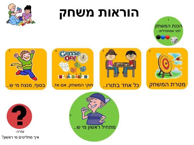 הוראות משחק by Ayelet Levy Kaminsky
