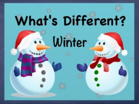 Whats Different - Winter by Ellen Weber