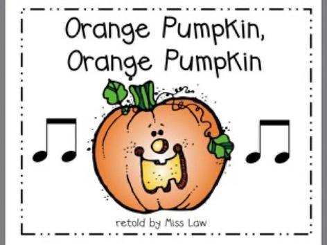 Orange Pumpkin by A. DePasquale
