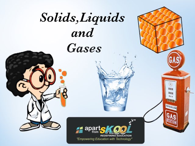 Solids,liquids And Gases by TinyTap creator