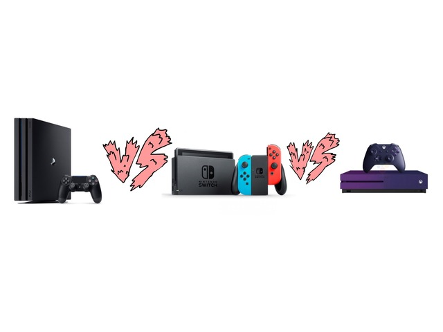Ps4 Vs Xbox One Vs Switch  by moussa