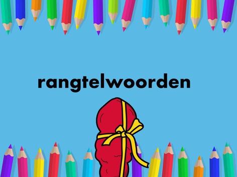 Rangtelwoorden by Janine