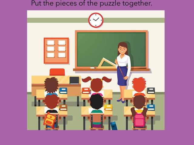 Unit 6 My Classroom Grade 5  Term 1 by Norah Ghazali