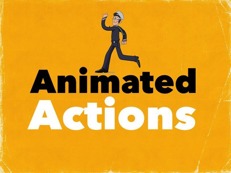Animated Actions(EN UK) by Madonna Nilsen