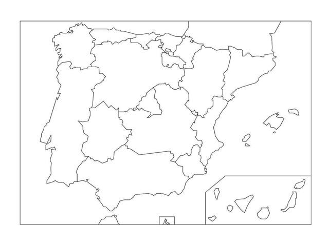 Comunidades Autónomas by Pelayo Ocon Gomez