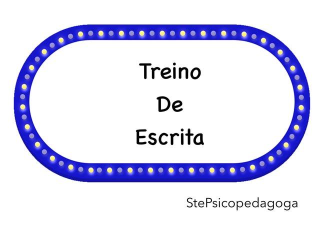 Treino De Escrita by ۞Ste Lonza