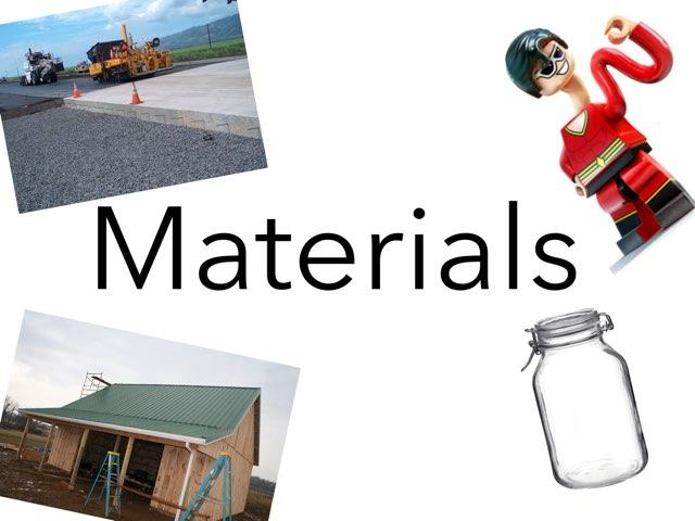A Book About Materials by Tina zita