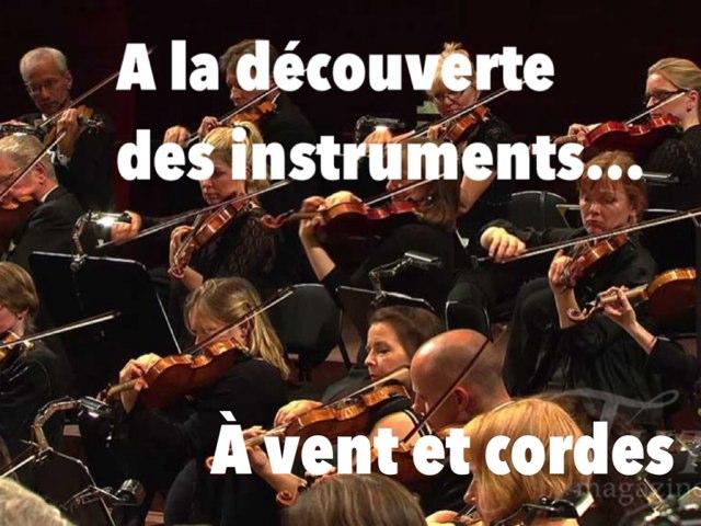 A La Decouverte Des Instruments by Alice Turpin
