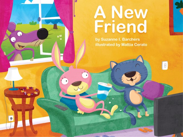 A New Friend (Kiosk) by Red Chair Press