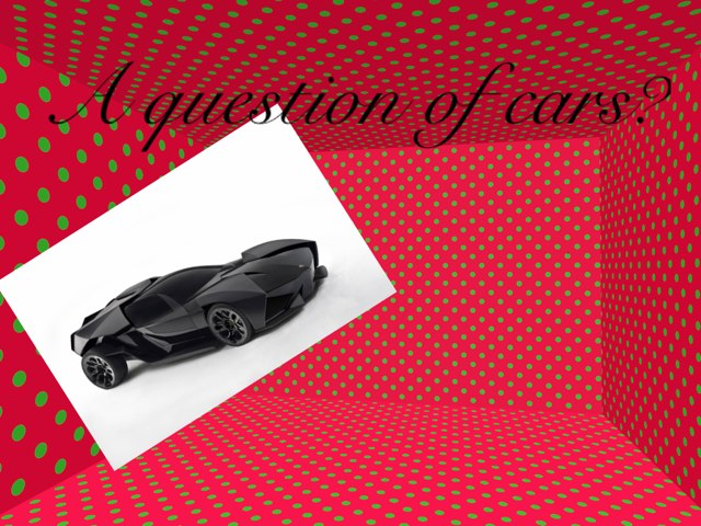 A Question Of Cars? by Summer School