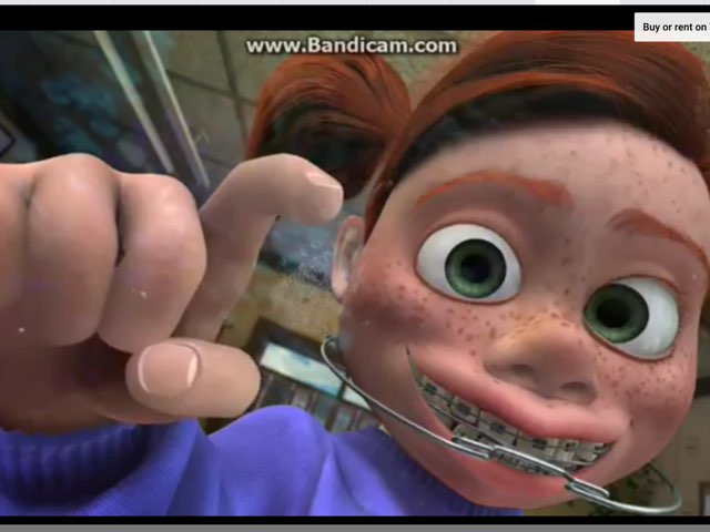 Finding Nemo Darla by Jeannine quirk