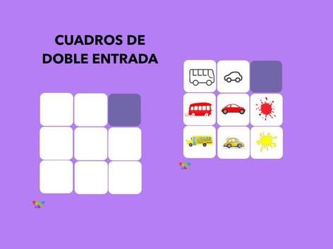 CUADROS DE DOBLE ENTRADA by Francisca Sánchez Martínez